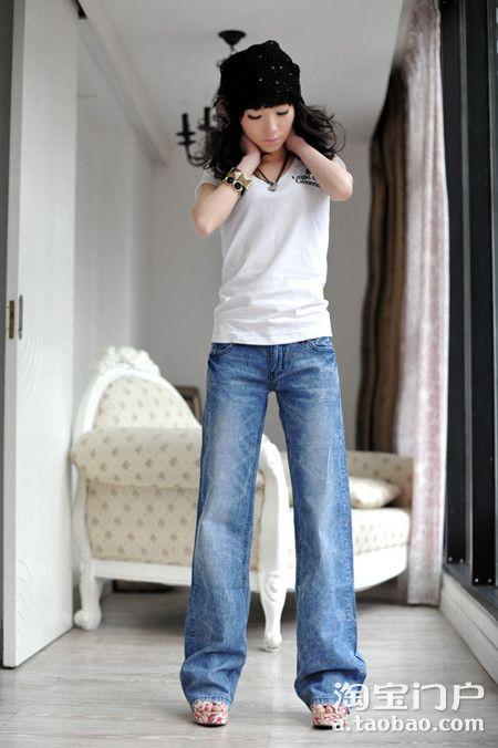 阔腿裤的15种穿法 粗腿MM必看